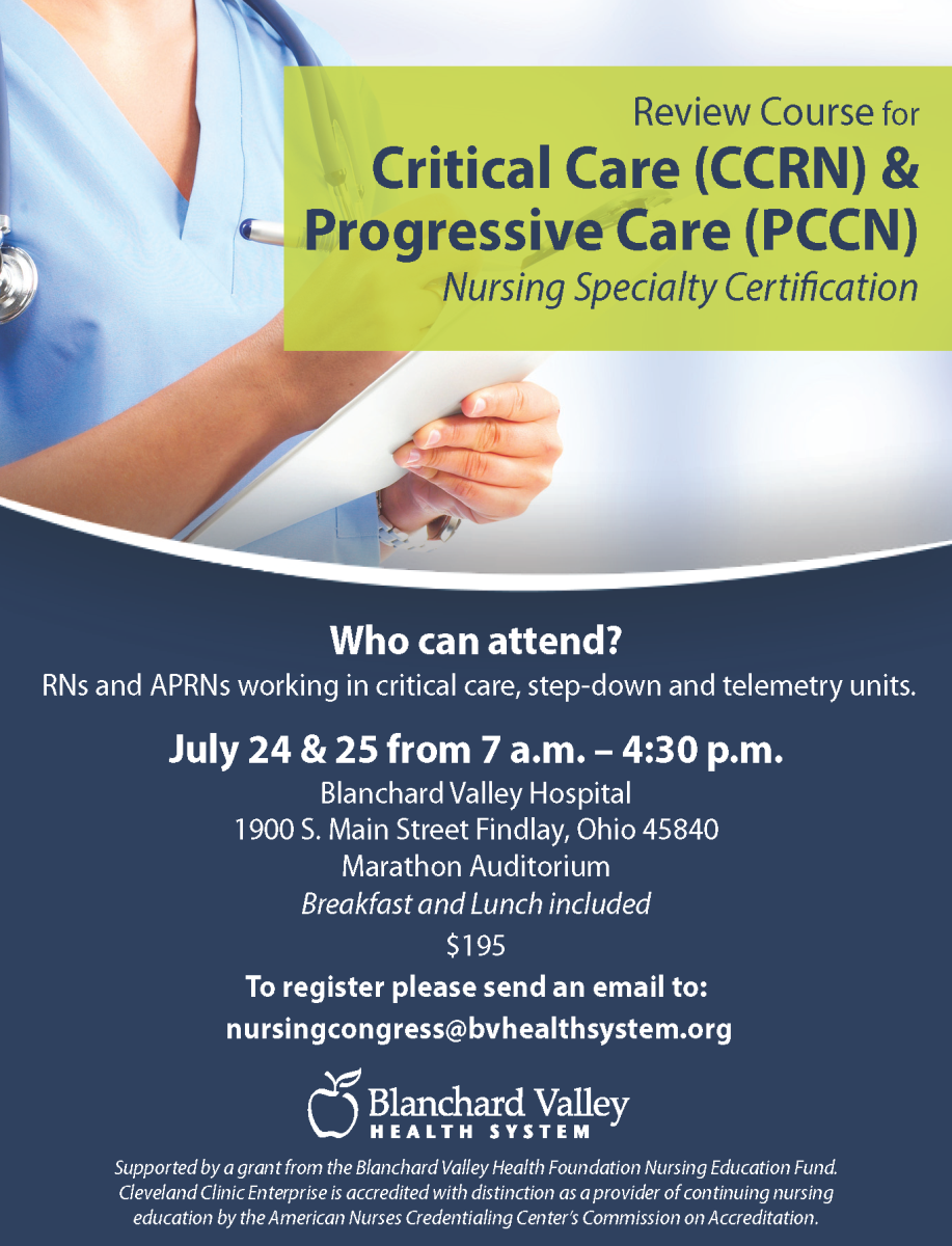 Review Course For Critical Care Progressive Care Nursing Specialty